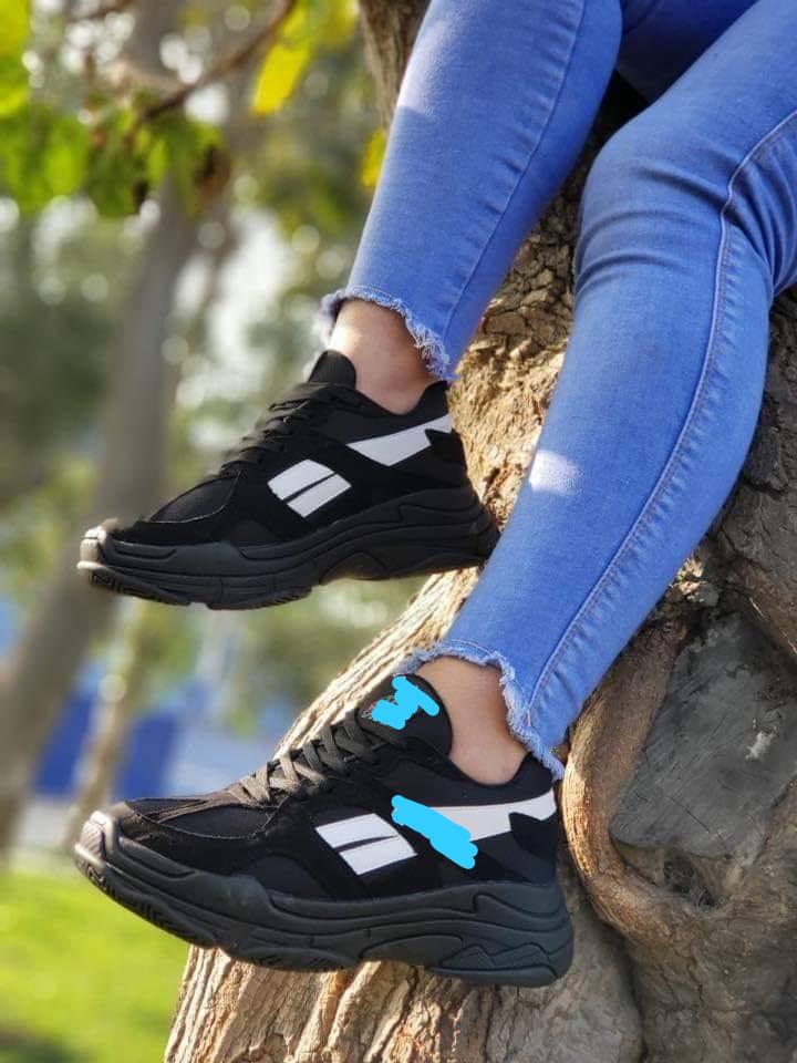 Zapatillas con planta alta