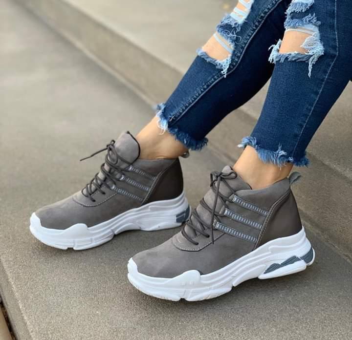 Zapatillas tipo botín