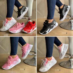 Zapatillas livianas para damas