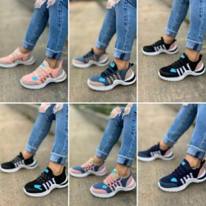 Zapatillas gamuza