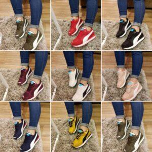 Zapatillas pumita para damas