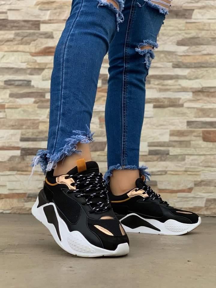 Zapatillas pumitas para damas
