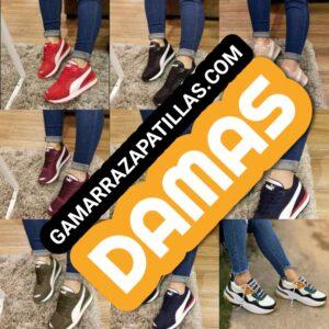 Zapatillas para damas en Gamarra