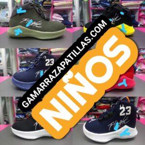 Zapatillas para niños en Gamarra