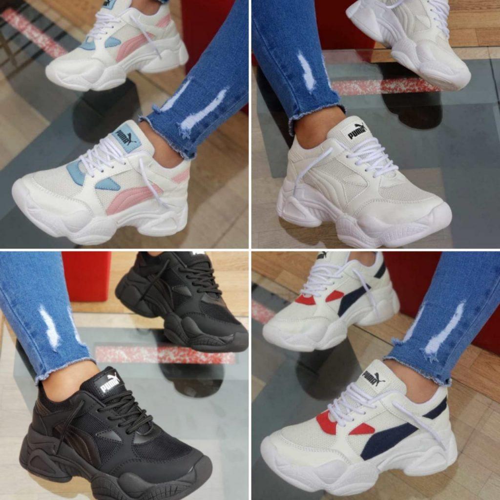 Zapatillas Pumas deportivas para damas