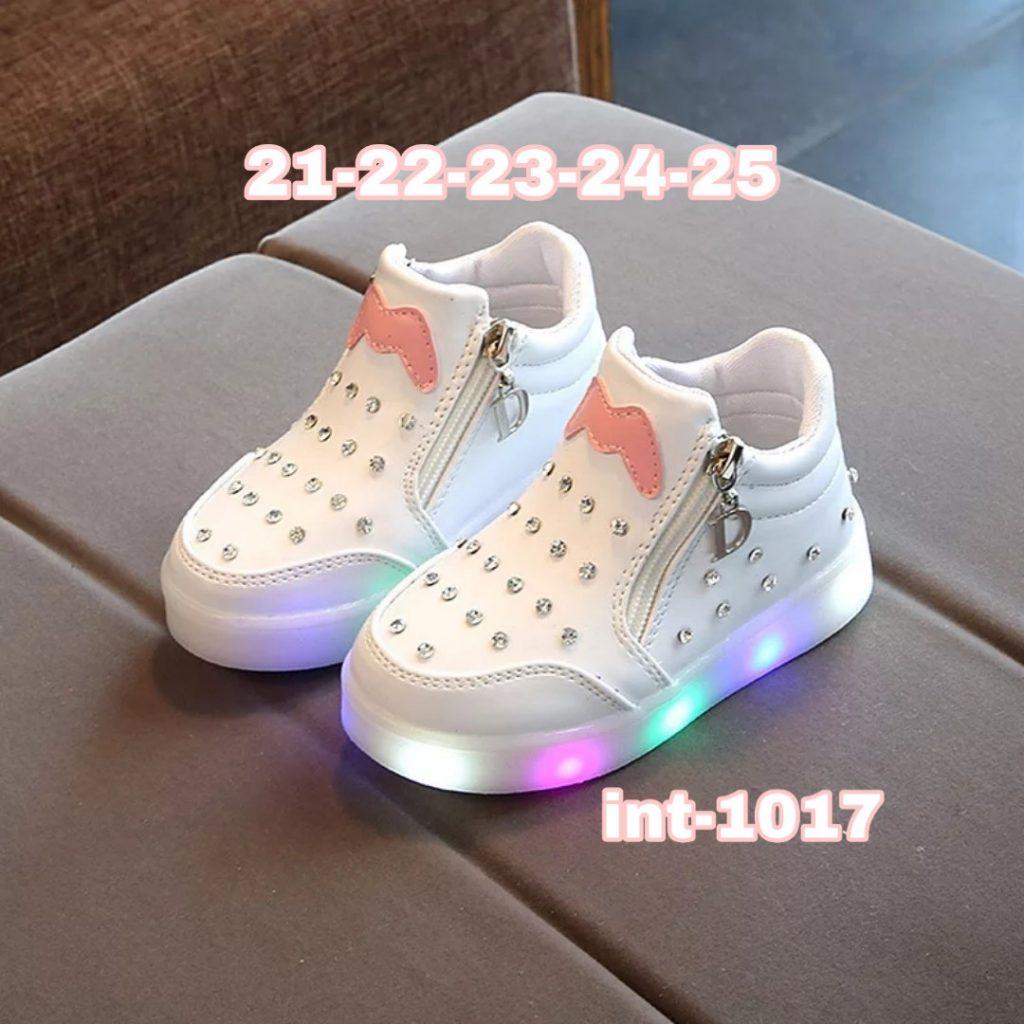 Zapatillas con cierre y luces niñas 2