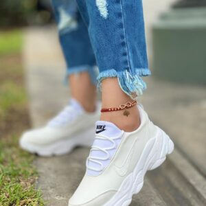 Zapatillas NK Altas Damas Blanco