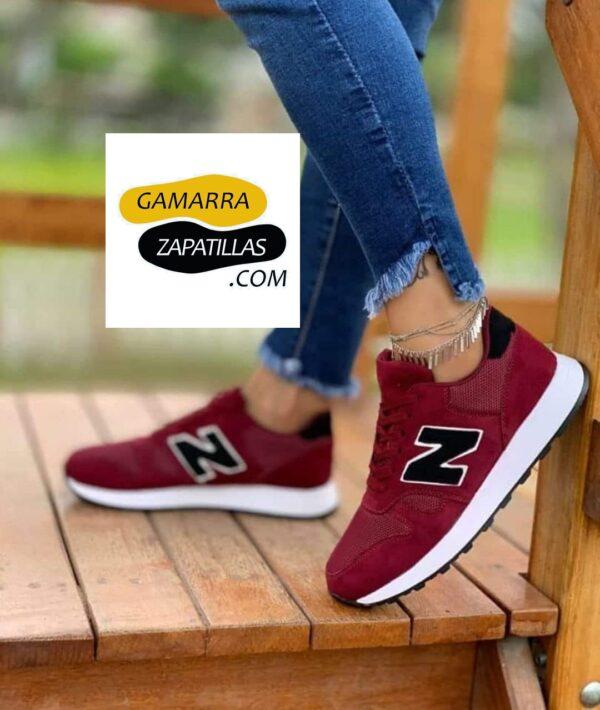 Zapatillas N Guinda