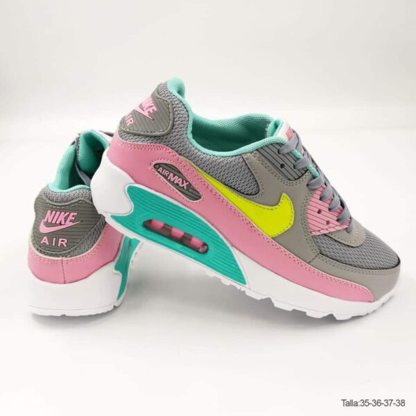 Zapatillas NK ARM gris con rosa