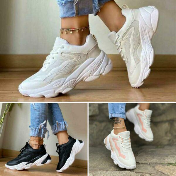 Zapatillas altas para damas